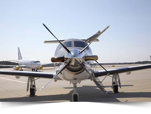 Pilatus PC 12 Front Nose