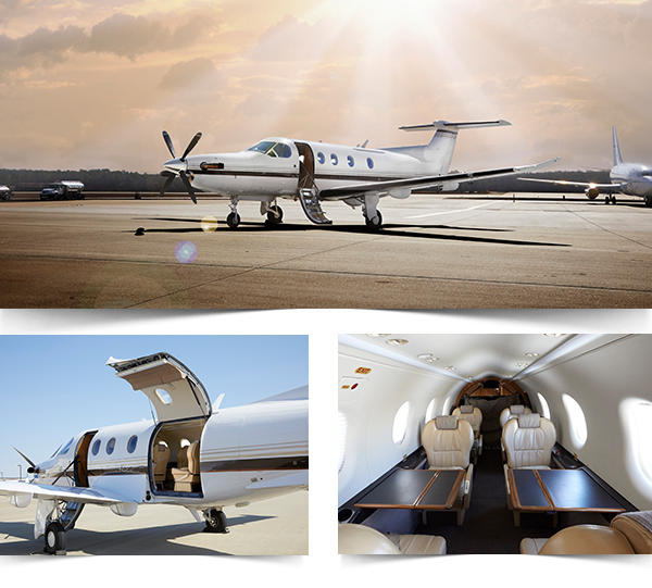 Pilatus PC 12 Collage